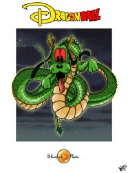 Pluto / Shenron Disney Ball Z